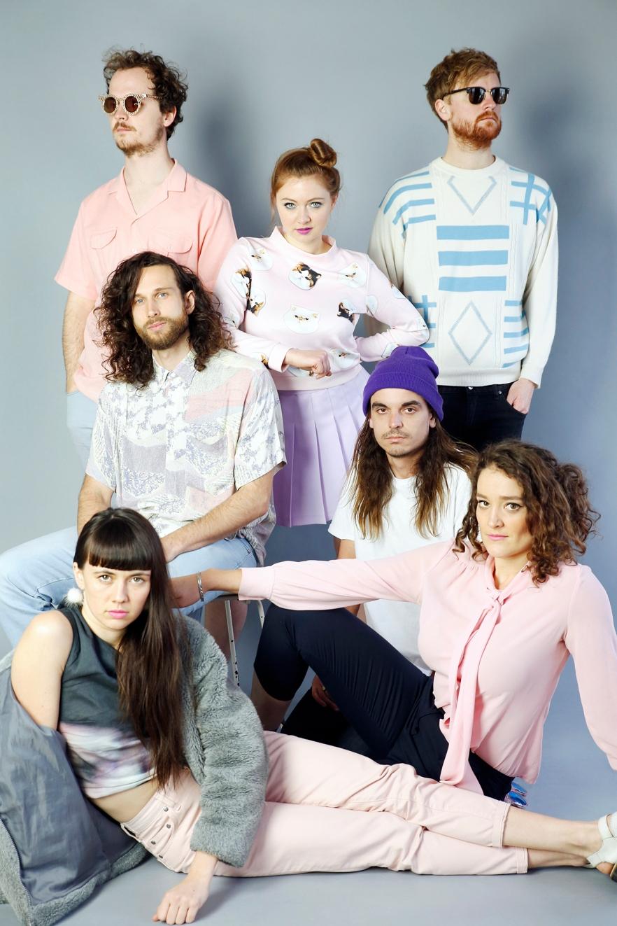 Group pastel